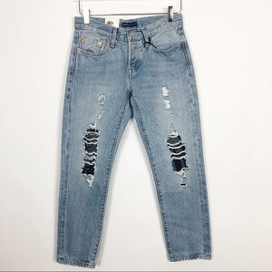 Levi's | 501 Made & Crafted Cropped Ankle Jean 24